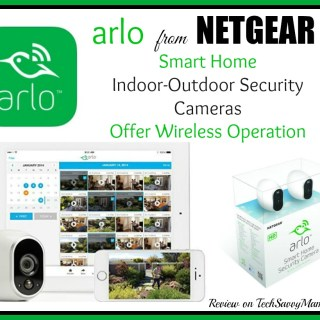 Netgear's Arlo Smart Home Security Cameras Offer Wireless Operation, Easy Setup & Free Service Plan