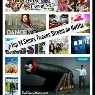 Top 14 Shows Tweens Stream on Netflix #StreamTeam