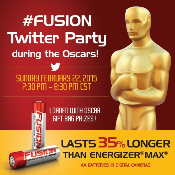 Rayovac #Fusion Twitter party during the Oscars