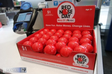 Box of Red Noses at Walgreens ©TechSavvyMama.com