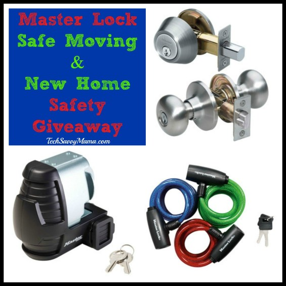 Master Lock Safe Moving & New Home Safety Giveaway