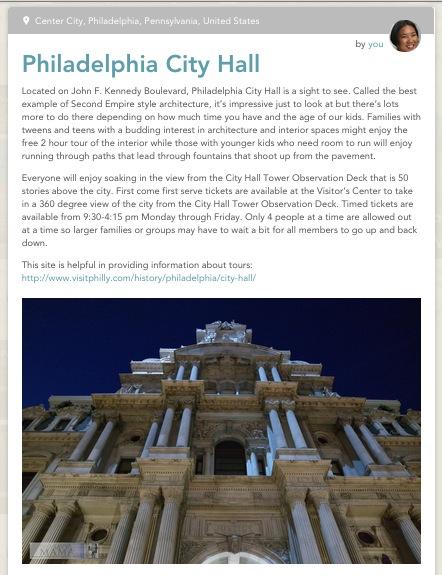 Philadelphia City Hall on Findery by Leticia Barr- TechSavvyMama
