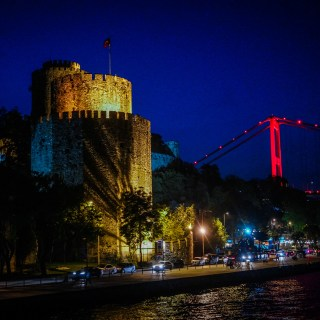 Old meets new in Istanbul where a cruise along the Bosphorus provides a look at both © 2015, Leticia Barr All Rights Reserved