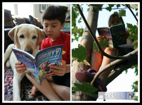 Summer Reading Tip- Let Kids Read Anywhere