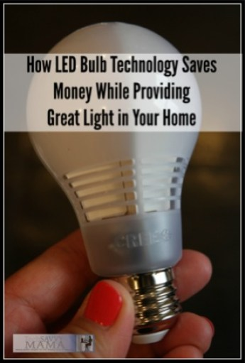 How LED Bulb Technology Saves Money While Providing Great Light in Your Home. Read how Leticia from TechSavvyMama uses LED lights in her #CreatewithCree post.