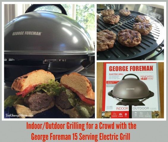 Indoor/Outdoor Grilling for a Crowd with the George Foreman