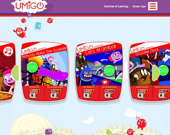 UMIGO Home Screen