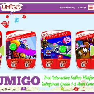 #UMIGO Free Interactive Online Platform Reinforces Math Concepts for Grades 1-2