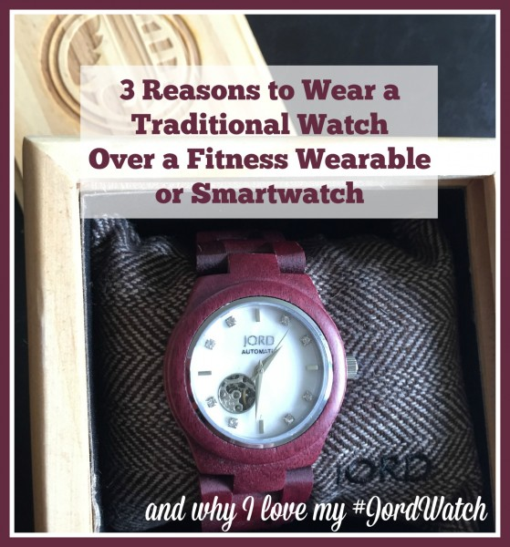 3 Reasons to Wear a Traditional Watch Over a Fitness Wearable or Smartwatch on TechSavvyMama.com