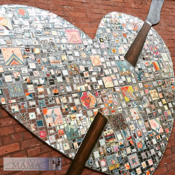 A stay at Brookshire Suites benefits Art with a Heart. Learn how you can give back to Baltimore by staying at this centrally located Inner Harbor hotel on TechSavvyMama.com