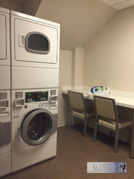 Traveling to NYC? Why Your Family Should Stay at Homewood Suites New York/Midtown Manhattan Times Square- laundry facilities to use during your stay. Full review on TechSavvyMama.com