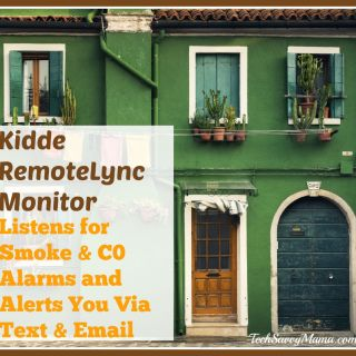 Kidde RemoteLync Monitor Listens for Smoke & Carbon Monoxide Alarms, Alerts You Via Text & Email (w. giveaway)