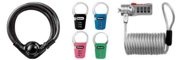 Master Lock Back to School products on TechSavvyMama.com and 4 Ways to Provide Combination Padlock Confidence in Time for Middle School