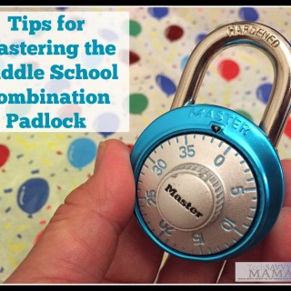 Tips for Mastering the Middle School Combination Padlock #LSSS