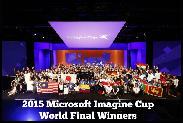 2015 Microsoft ImagineCup World Final Winners Tech