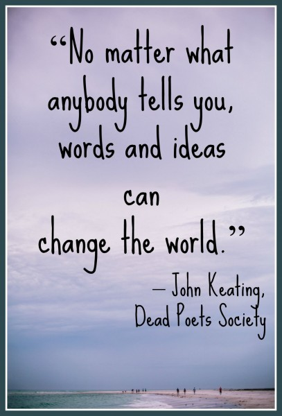 Dead Poets Society Quote