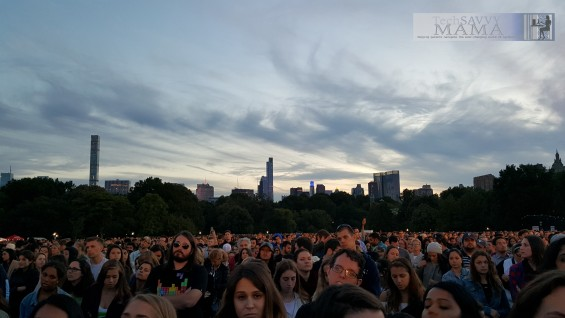 Crowd at #GlobalCitizenFestival 2015 #2030Now