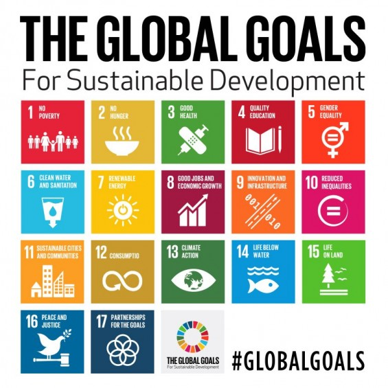 Global Goals for Sustainable Development #GlobalGoals
