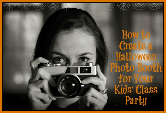 How to Create a Halloween Photo Booth for Your Kids' Class Party