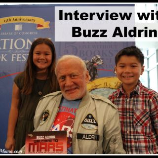 Interviewing Buzz Aldrin: Thomas & Emily Chat with an Astronaut at the 2015 National Book Festival (w giveaway)