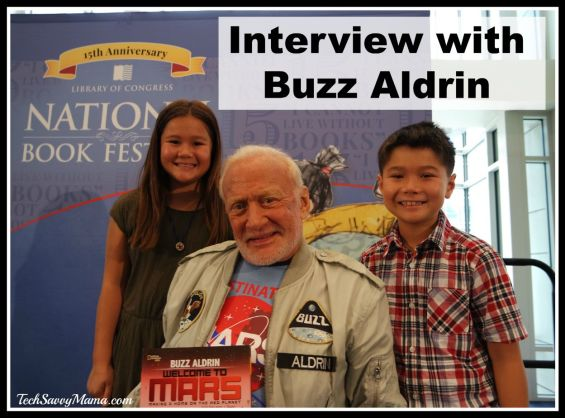 Interview with Buzz Aldrin at the 2015 National Book Festival #NatBookFest2015