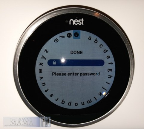 Setting up Nest: Connecting to Home WiFi © 2015 Leticia Barr TechSavvyMama.com