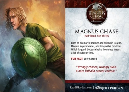 Magnus Chase Trading Card