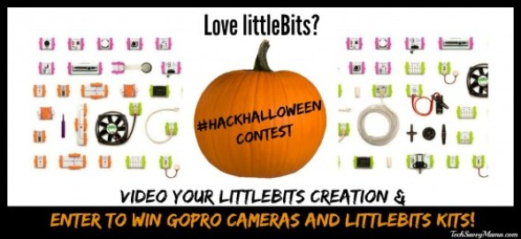 littleBits Hack Your Halloween Contest details on TechSavvyMama.com #HackHalloween