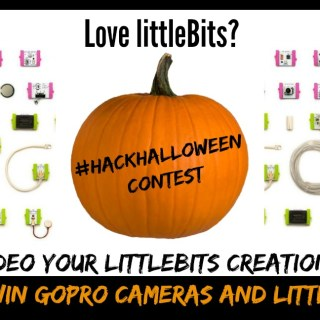 Love littleBits? Film Your Creation & Enter Their Hack Your Halloween Challenge for Fabulous Prizes