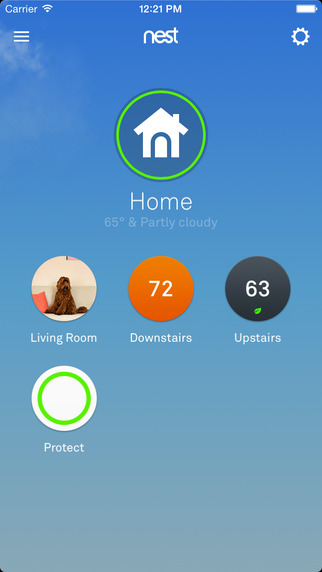 Nest mobile app provides remote access to your thermostat. Full review of 3rd generation Nest on TechSavvyMama.com