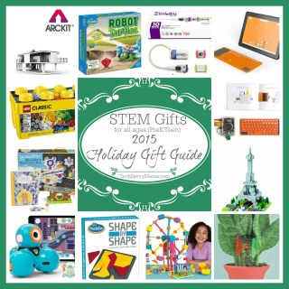 2015 Gift Guide: STEM Gifts for All Ages (preK-teen)