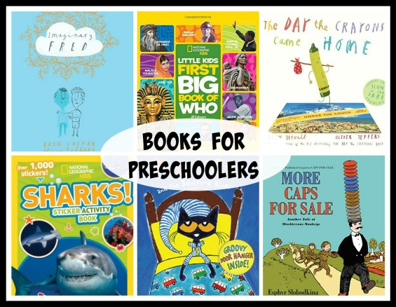 Books for Preschoolers on TechSavvyMama.com's Best Gifts for Preschoolers 2015