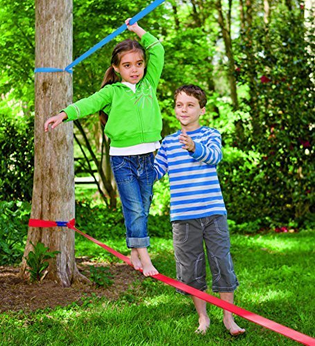 Classic Training Slack Line featured on TechSavvyMama.com's Best Gifts for Preschoolers 2015