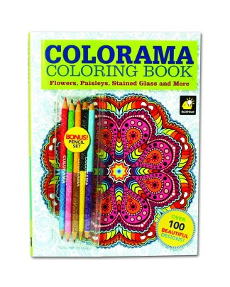 Colorama Coloring Book featured on TechSavvyMama.com's 2015 Gift Guide: Best Gifts for Teens