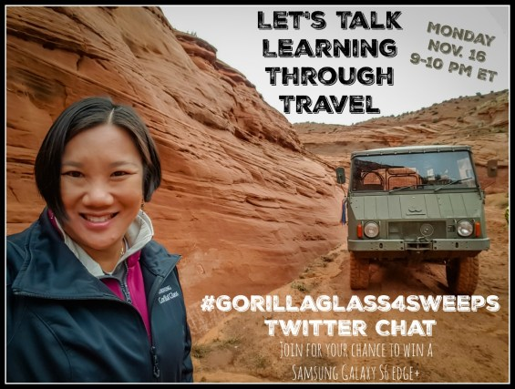 #GorillaGlass4Sweeps Twitter Party