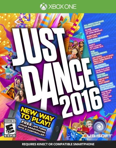Just Dance 2016 featured on TechSavvyMama.com's 2015 Best Gifts for Early Elementary Ages (ages 5-8 or grades K-2)