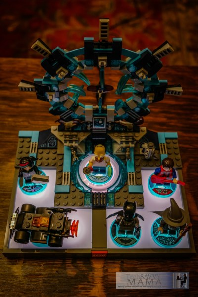 LEGO Dimensions Gateway with Character Minifigs © 2015, Leticia Barr All Rights Reserved
