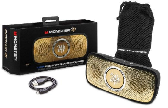 Monster 24K Backfloat featured on TechSavvyMama.com's 2015 Best Gifts for Moms