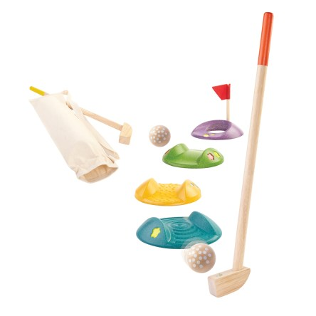 Mini Golf Set by PBS Kids featured on TechSavvyMama.com's Best Gifts for Toddlers 2015
