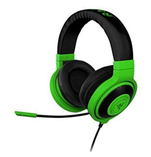 Razer Kracken Neon Pro Headphones featured on TechSavvyMama.com's 2015 Gift Guide: Best Gifts for Teens