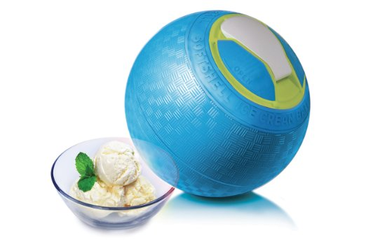 SoftShell ice Cream Ball featured on TechSavvyMama.com's 2015 Best Gifts for Early Elementary Ages (ages 5-8 or grades K-2)