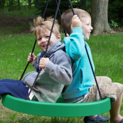 Super Spinner Swing featured on TechSavvyMama.com's Best Gifts for Toddlers 2015