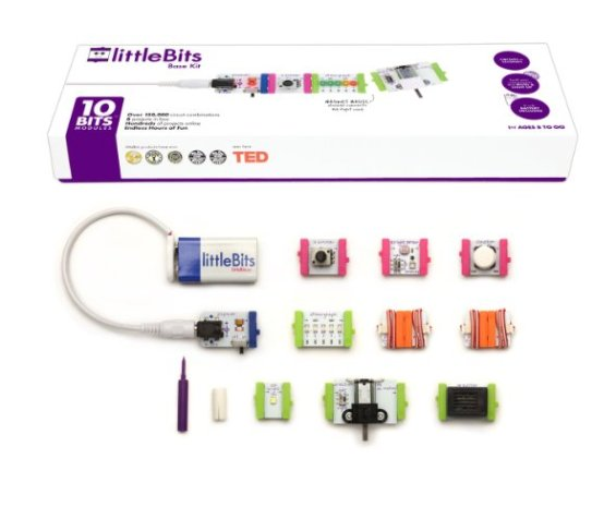 littleBits featured on TechSavvyMama.com's 2015 Best Gifts Gift Guide