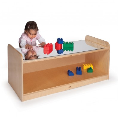 Play Table with Mirror by Whitney Brothers featured on TechSavvyMama.com's Best Gifts for Toddlers 2015