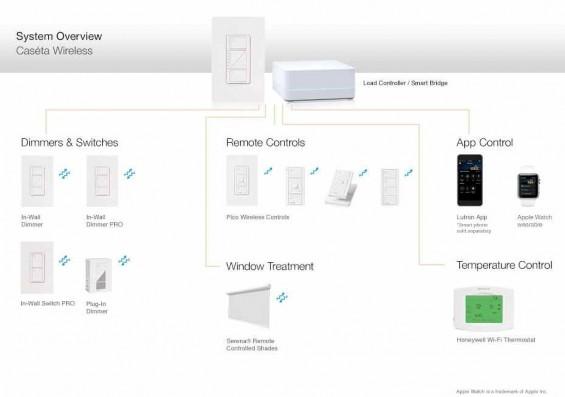 Caseta Wireless System Overview