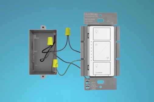 caseta wireless wiring diagram