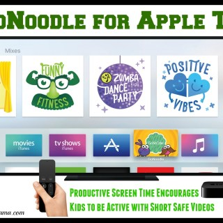 GoNoodle for Apple TV: Productive Screen Time Encourages Kids to be Active with Short Safe Videos (w. giveaway)