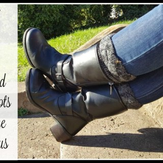 #FashionIRL: How I Bought, Wore & Shared My Boots to Become #ohsofamous