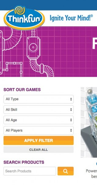 Matching ThinkFun Games to Ages and Skill