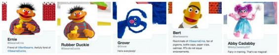 A list of Sesame Street Twitter Accounts on TechSavvyMama.com